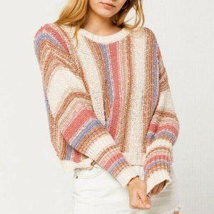 NWT! Billabong Women's Easy Going Sweater